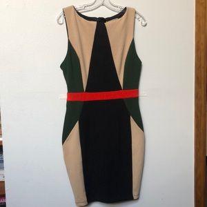 Stretchy fall bodycon dress